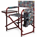 Picnic Time Pixels Portable Folding Sports Chair