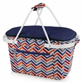 Picnic Time Vibe Market Basket Tote Bag, Multicolor