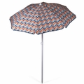Picnic Time Vibe Portable Canopy Outdoor Umbrella, 5.5 Feet