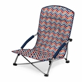 Picnic Time Vibe Tranquility Portable Folding Beach Chair