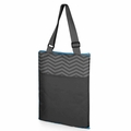 Picnic Time Waves Vista Outdoor Picnic Blanket Tote