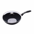 Swiss Diamond Induction Nonstick Wok with Lid, 11 Inch