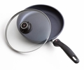 Swiss Diamond Nonstick Fry Pan with Lid, 10.25 Inch