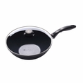 Swiss Diamond Nonstick Wok with Lid, 11 Inch