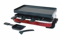 Swissmar KF-77043 Classic 8 Person Raclette with Reversible Grill, Red