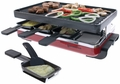 Swissmar KF-77046 8 Person Raclette with Reversible Cast Iron Grill