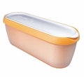 Tovolo Glide-a-Scoop Ice Cream Tub, Orange Crush