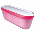 Tovolo Glide-a-Scoop Ice Cream Tub, Raspberry Tart