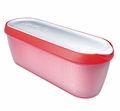 Tovolo Glide-a-Scoop Ice Cream Tub, Strawberry Sorbet