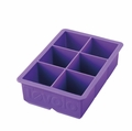 Tovolo King Cube Ice Tray, Royal Purple
