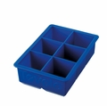 Tovolo King Cube Ice Tray, Stratus Blue