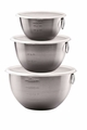 Tovolo Set of 3 Stainless Steel Mixing Bowls