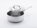USA Pans 5-Ply Stainless Steel 1.65 Quart Saucepan