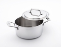 USA Pans 5-Ply Stainless Steel 3 Quart Stock Pot