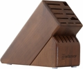 Wusthof 17 Slot Knife Storage Block, Walnut