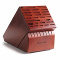 Wusthof 35 Slot Knife Storage Block, Cherry