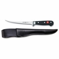 Wusthof Classic Fillet Knife w/ Leather Sheath, 7 inch