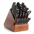 Wusthof Classic Supreme Cutlery Set with Knife Block, 36 piece
