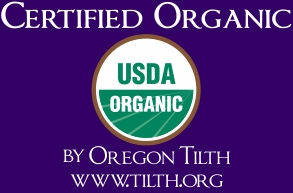 Medicine Flower is Certified Organic by Oregon Tilth- www.tilth.org