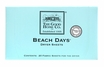 Beach Days Dryer Sheets Case