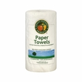 Earth Friendly Jumbo White Paper Towels 2 Ply - 1 Roll
