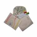 Eco Ditty Snack Bag - Color Your Own