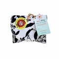 Eco Ditty Snack Bag - Whispering Grass Black and White