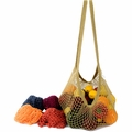 ECOBAGS Classic String Bag Assorted Earthtones - Long Handle - 10 Bags