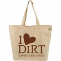 ECOBAGS Farmers Market Tote - I Love Dirt - 10 Bags