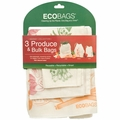 ECOBAGS Market Collection Set of 3 Produce and Bulk Bags - 10 Sets of 3 Bags