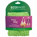 ECOBAGS Market Collection String Bags Long Handle - Lime - 1 Bag
