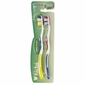 Fuchs Toothbrush - Triple Action - Extra Soft - 2 Count - 1 Case