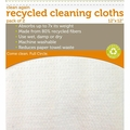 Full Circle Home Cleaning Cloths - Clean Again Recycled White - 2 ct - Case of 6