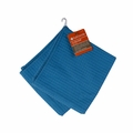Full Circle Home In The Buff 16 inch x 26 inch Dish Towel - Blue