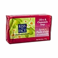 Kiss My Face Bar Soap Olive and Chamomile - 4 oz