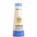 Method Products Laundry Detergent - Fresh Air - 50 Loads - 20 oz - Case of 6