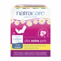 Natracare Pads - Ultra Extra - Long - Wings - 8 Count