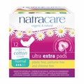 Natracare Pads - Ultra Extra - Normal - Wings - 12 Count