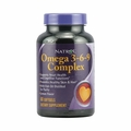 Natrol Omega 3-6-9 Complex Lemon - 60 Softgels