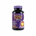 Natrol Omega-3 Fish Oil Lemon - 1000 mg - 90 Softgels