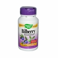 Nature's Way Bilberry Standardized - 80 mg - 90 Capsules