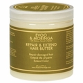 Nubian Heritage Hair Butter - Repair and Extend Extra Virgin Olive Oil and Moringa - 6 oz
