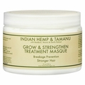 Nubian Heritage Hair Masque - Grow and Strengthen Treatment Indian Hemp and Tamanu - 10 oz