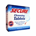 SECURE Denture Adhesive Denture Cleanser - 32 Tablets