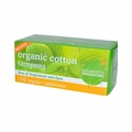 Seventh Generation Chlorine Free Organic Cotton Tampons - Regular - 16 Tampons - Case of 12