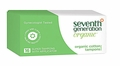 Seventh Generation Tampons - Super Applicator - 16 ct - Case of 12