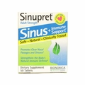 Sinupret Bionorica Sinus Immune Support Adult Strength - 50 Tablets