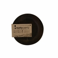Susty Party Plate - 7 inch - Black - 8 count - Case of 12