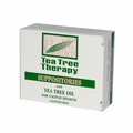 Tea Tree Therapy Vaginal Suppositories with Tea Tree Oil - 6 Suppositories