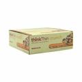 Think Products Thin Crunch Bar - Mixed Nuts - Case of 10 - 1.41 oz